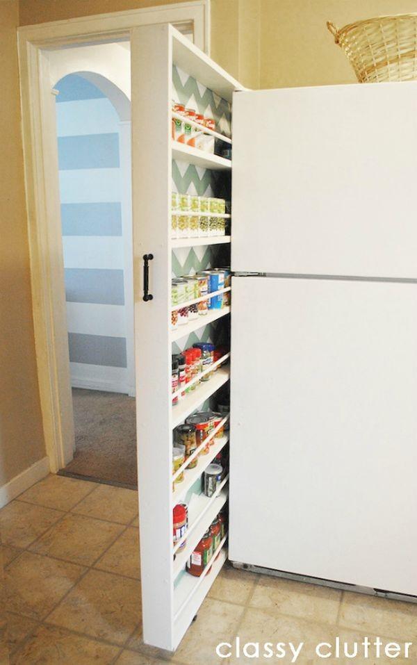 Mẹo lưu trữ cho phòng bếp