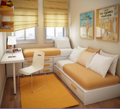 Mẹo trang trí cho phòng ngủ nhỏ