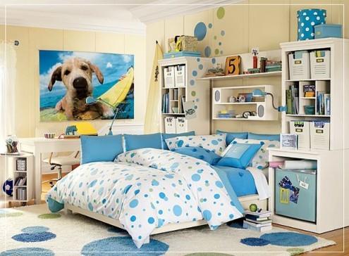 phòng ngủ mơ mộng
