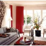 Chọn màn cửa xinh cho phòng khách thêm duyên dáng