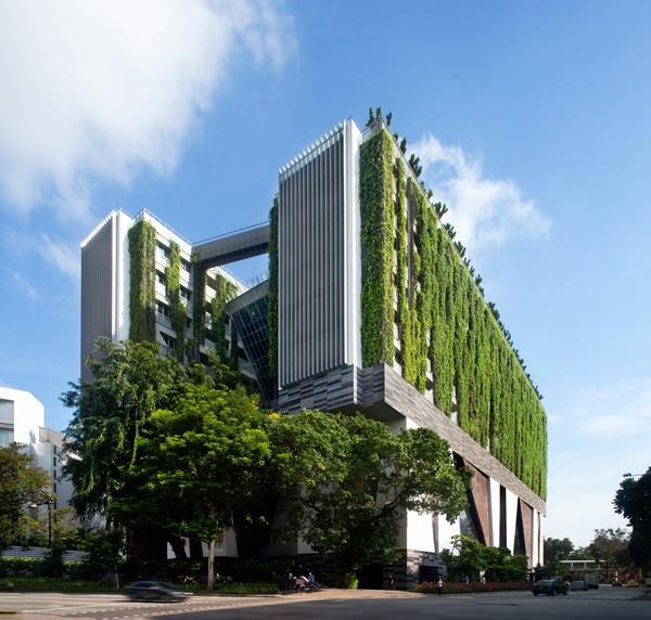 Kết quả hình ảnh cho xu hướng kiến trúc hiện đại mới  Thân thiện môi trường & tiết kiệm năng lượng
