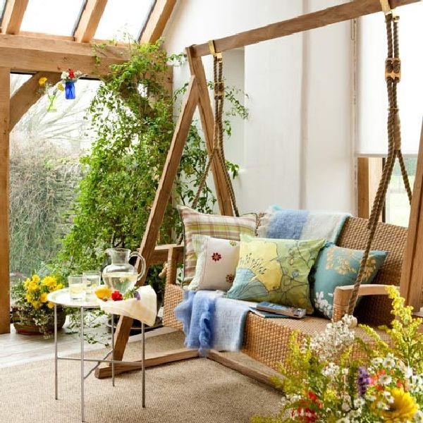 Cách trang trí đơn giản cho hiên nhà đẹp