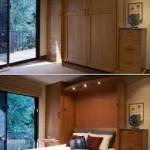 Giường âm tường độc đáo