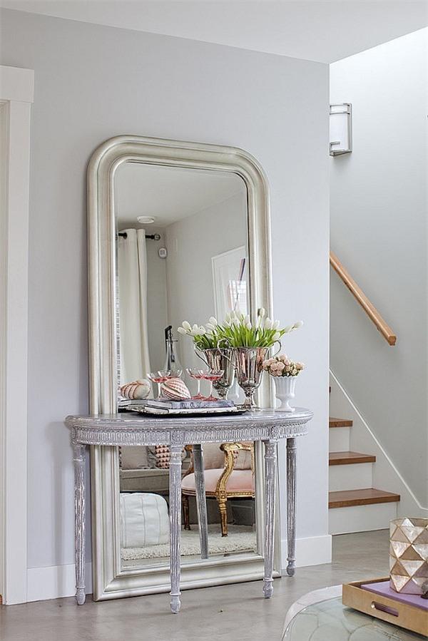 Độc đáo với cách làm đẹp ngôi nhà bằng những chiếc gương2