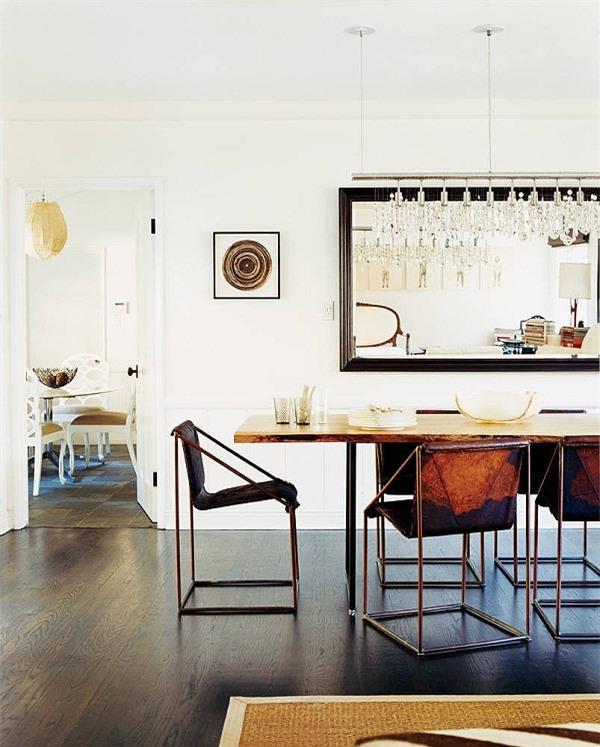 Độc đáo với cách làm đẹp ngôi nhà bằng những chiếc gương7
