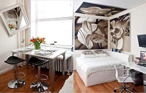 Hướng dẫn cách bài trí nội thất thông minh cho căn hộ 12 đến 20m23