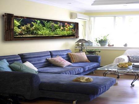 Nên thiết kế bể cá trong phòng khách như thế nào?3