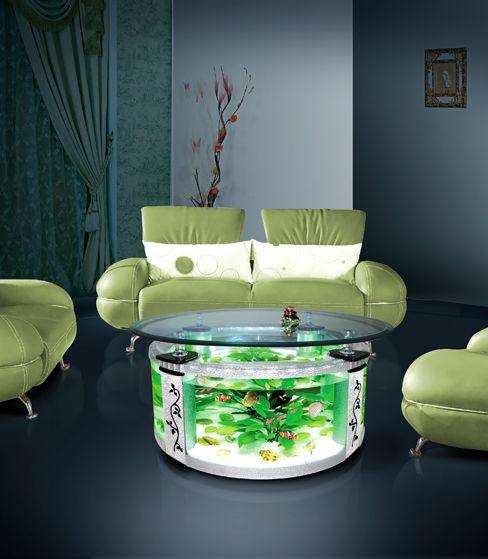 Nên thiết kế bể cá trong phòng khách như thế nào?1