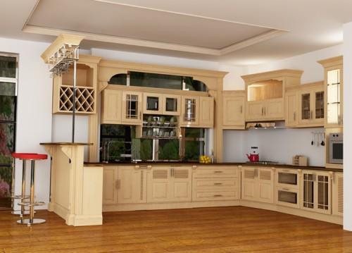 Những mẫu bàn bếp được nhiều người ưa chuộng nhất hiện nay6