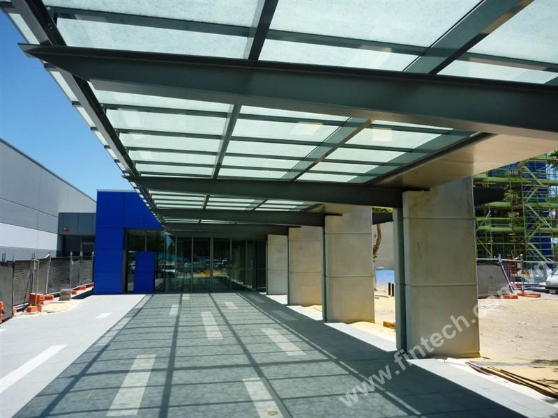 Những ứng dụng nhôm kính trong kiến trúc công trình2